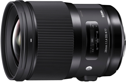 sigma 28mm new lenses