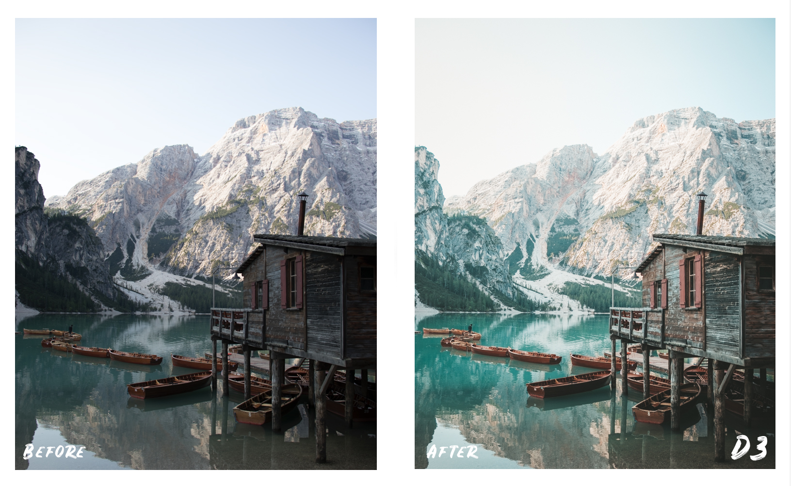 Dolomites Lightroom Presets by Alessandro Citterio