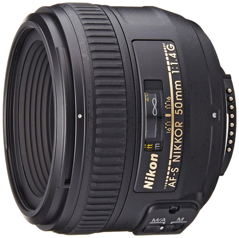 nikkor 50mm f1.4 nikon lens