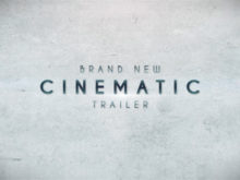 cinematic trailer ae template