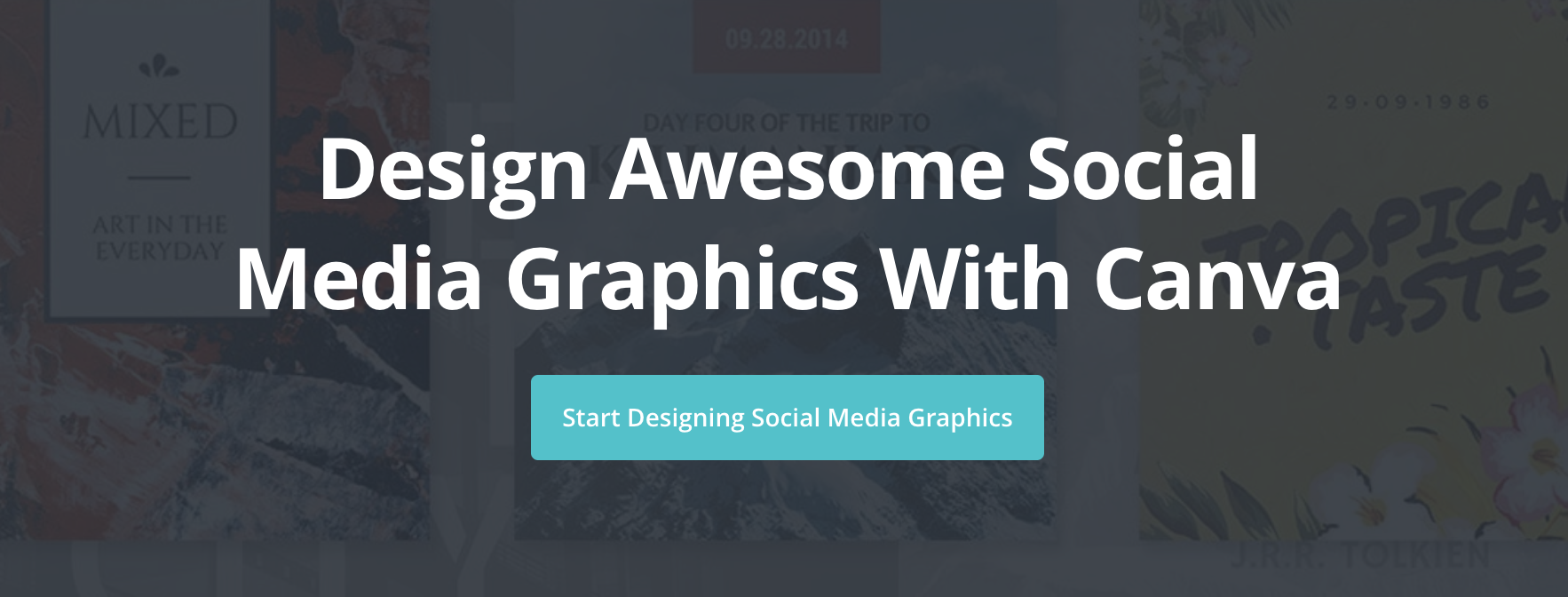 canva social media graphics tool
