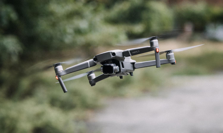 dji mavic 2 pro with tiffen drone filter