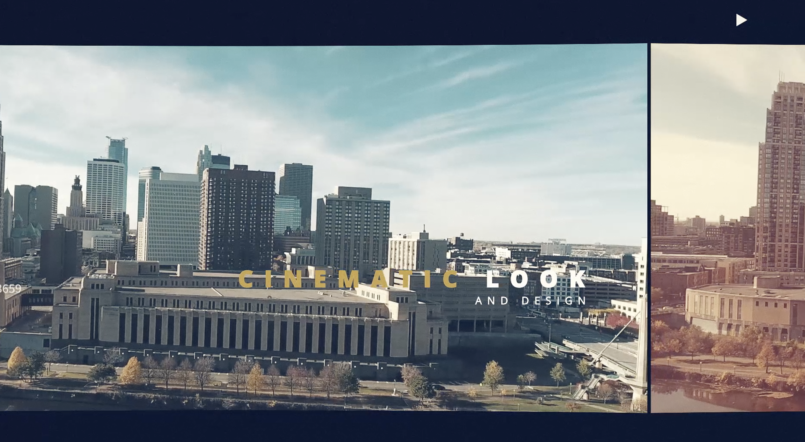 inspiring cinematic opener after effects template