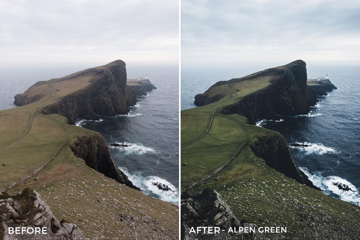 Alpen-Green-Hannes-Stier-Lightroom-Presets-FilterGrade