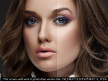 makeup paint photoshop action