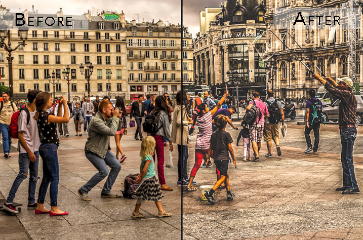 imagepunk presets for street photos