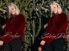 2 Gail Bowman Golden Hour Lightroom Presets - FilterGrade