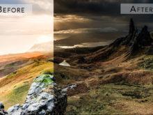 landscape hdr edit
