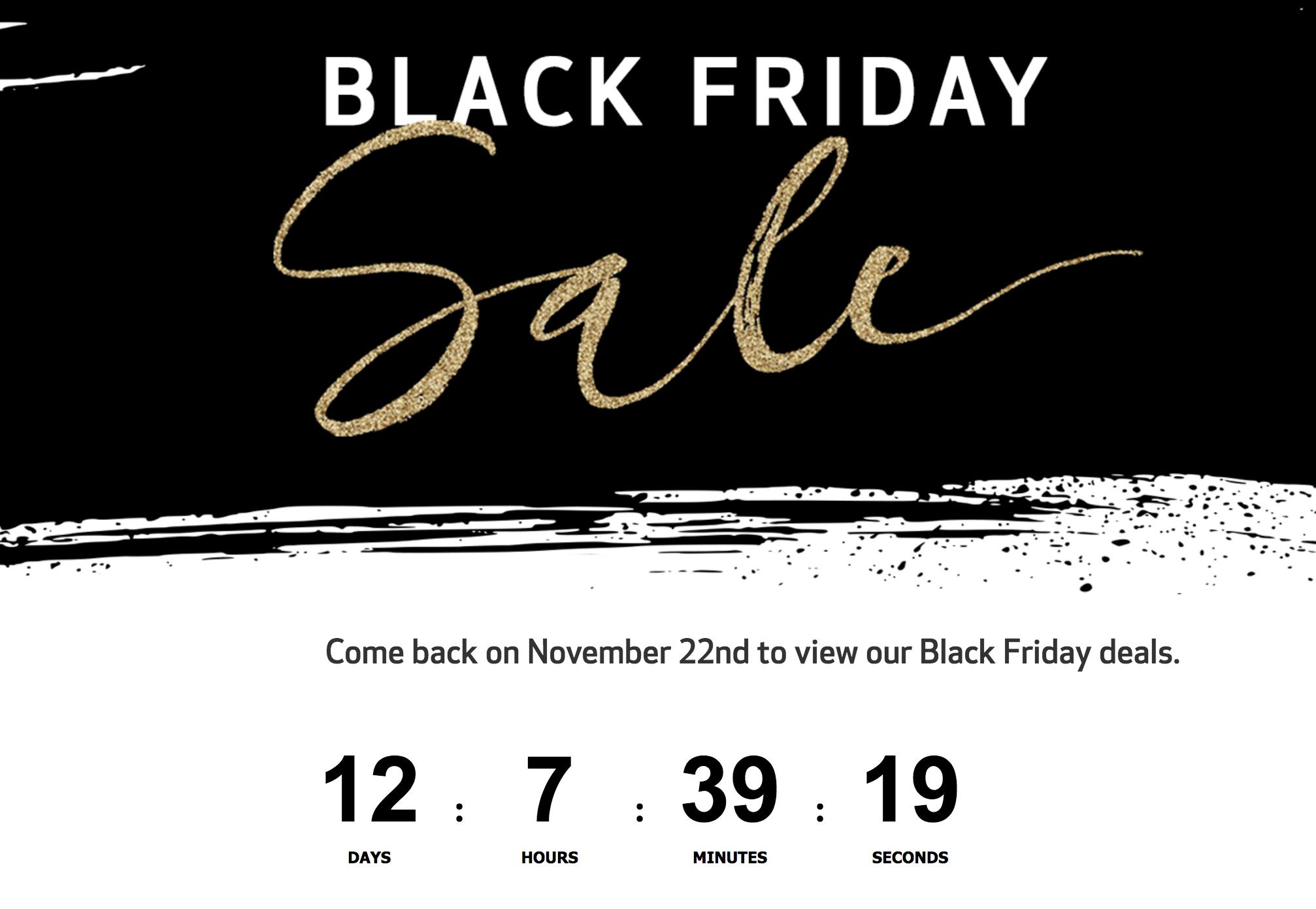 Canon Black Friday Sale 2018