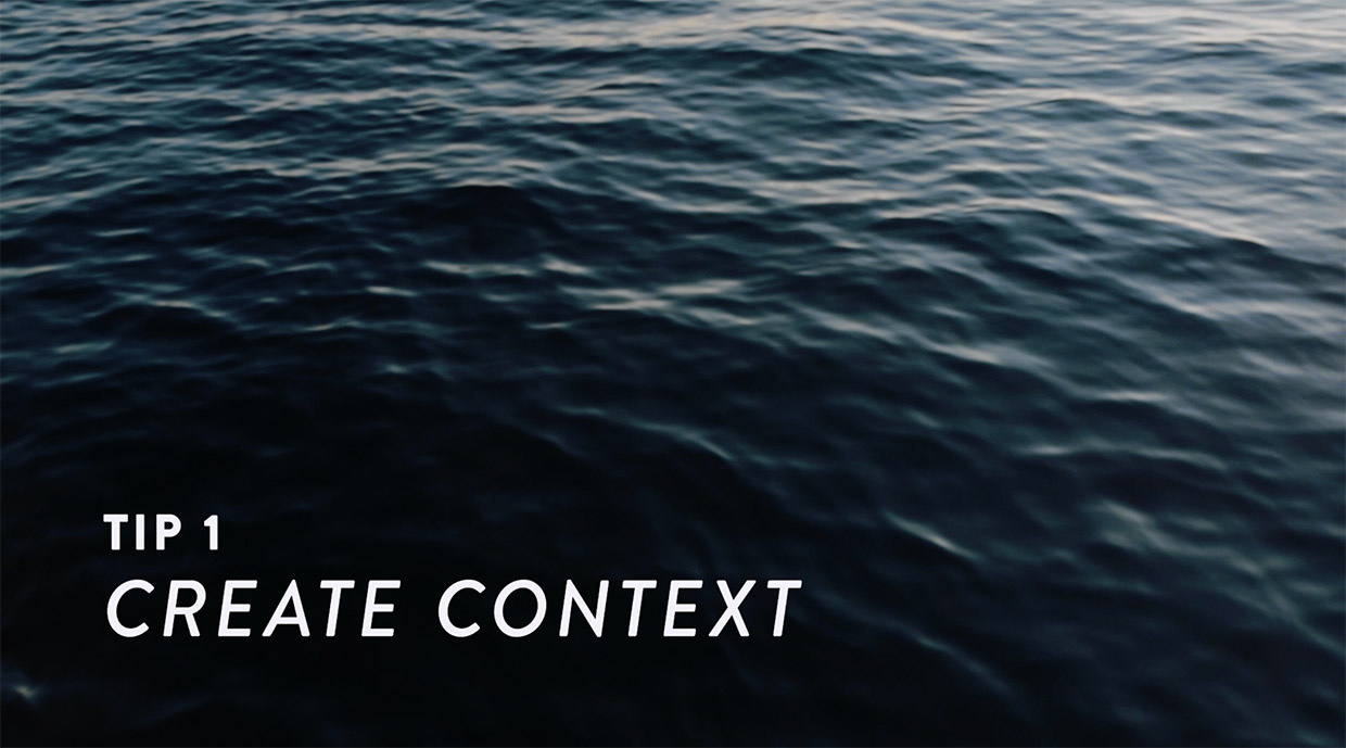 create context travel videos
