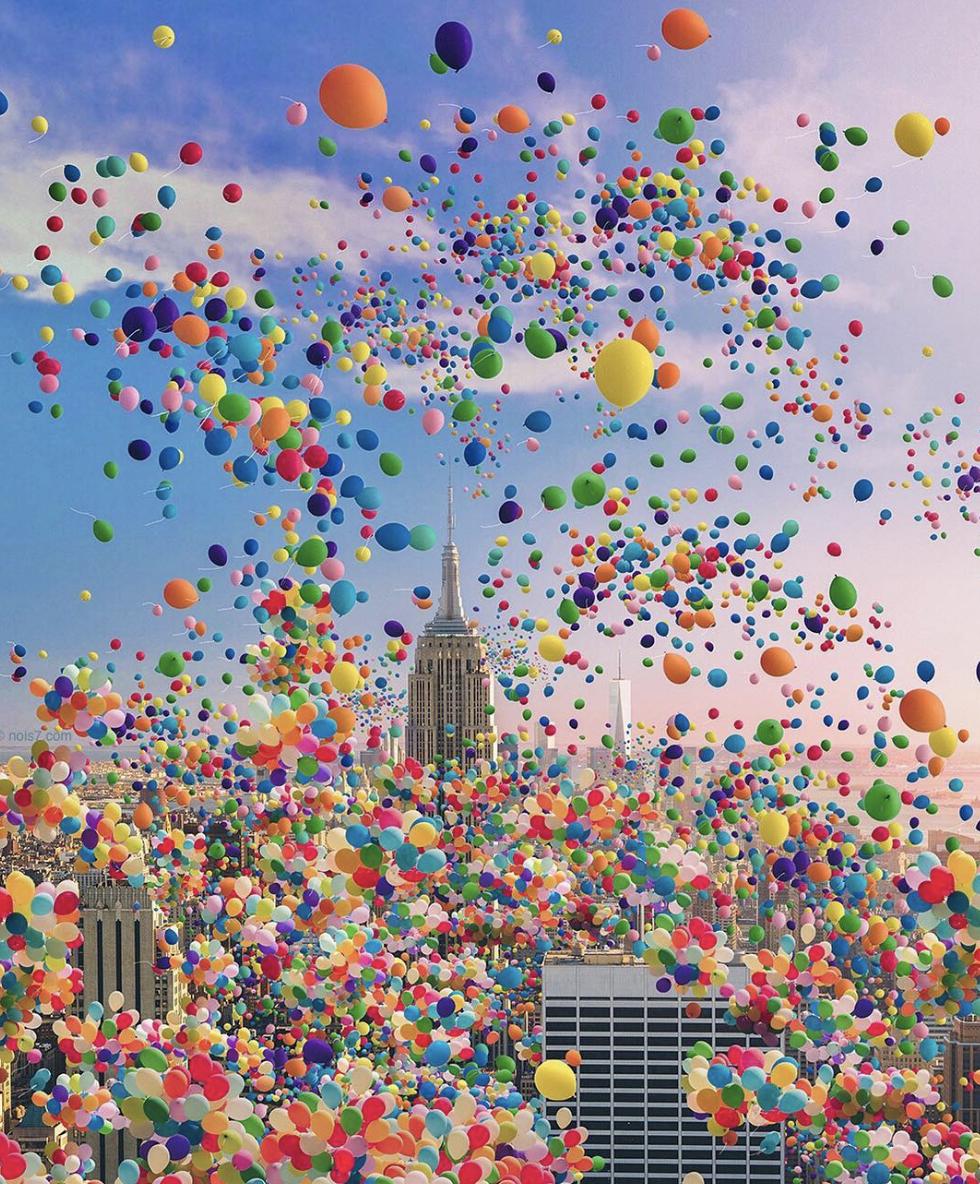 2 Nois7 Helium Balloon Photo Overlays - FilterGrade