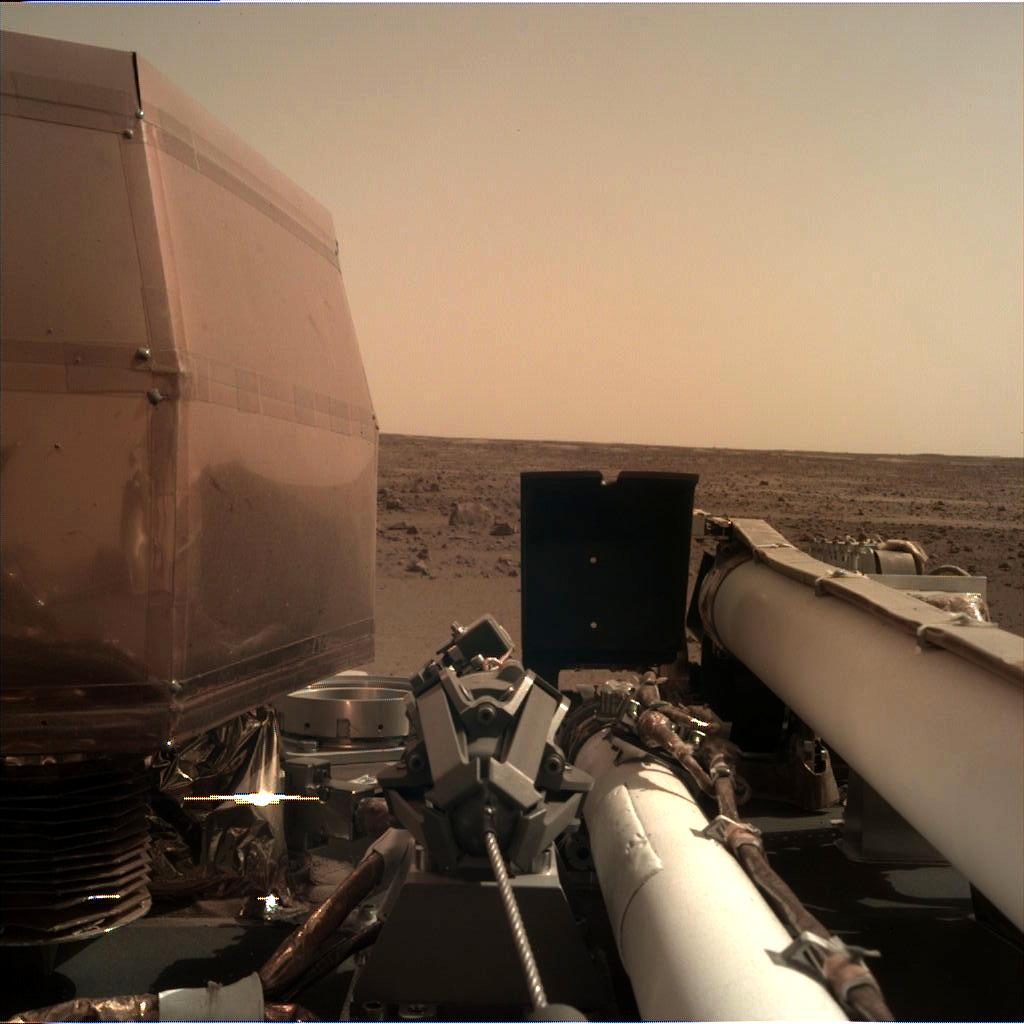 nasa insight photos from mars