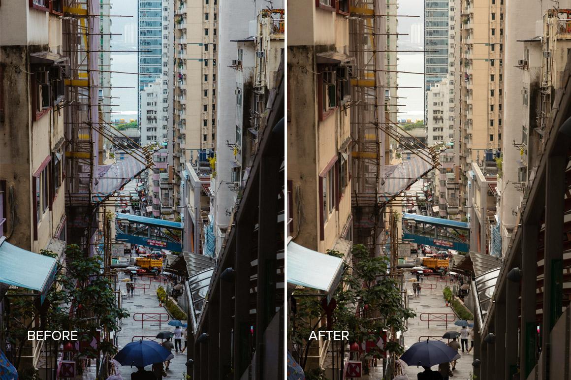 hong kong urban presets