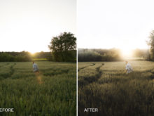 faded matte effect lr preset by joan slye