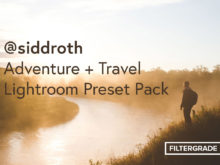 @siddroth adventure lightroom preset pack