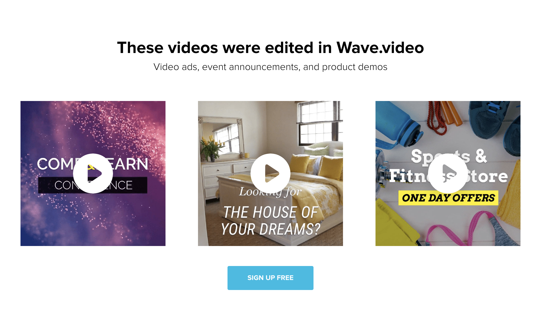 wave online video editor free