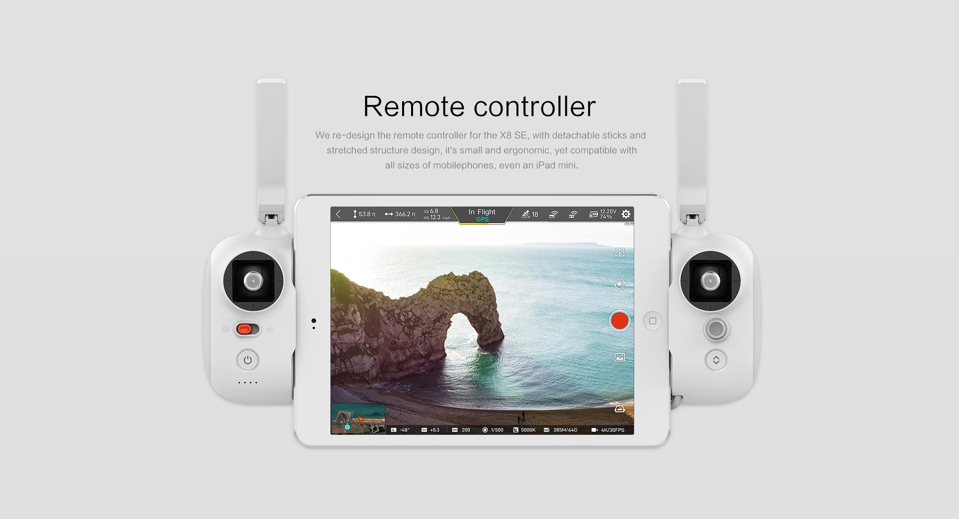 fimi x8 se remote controller