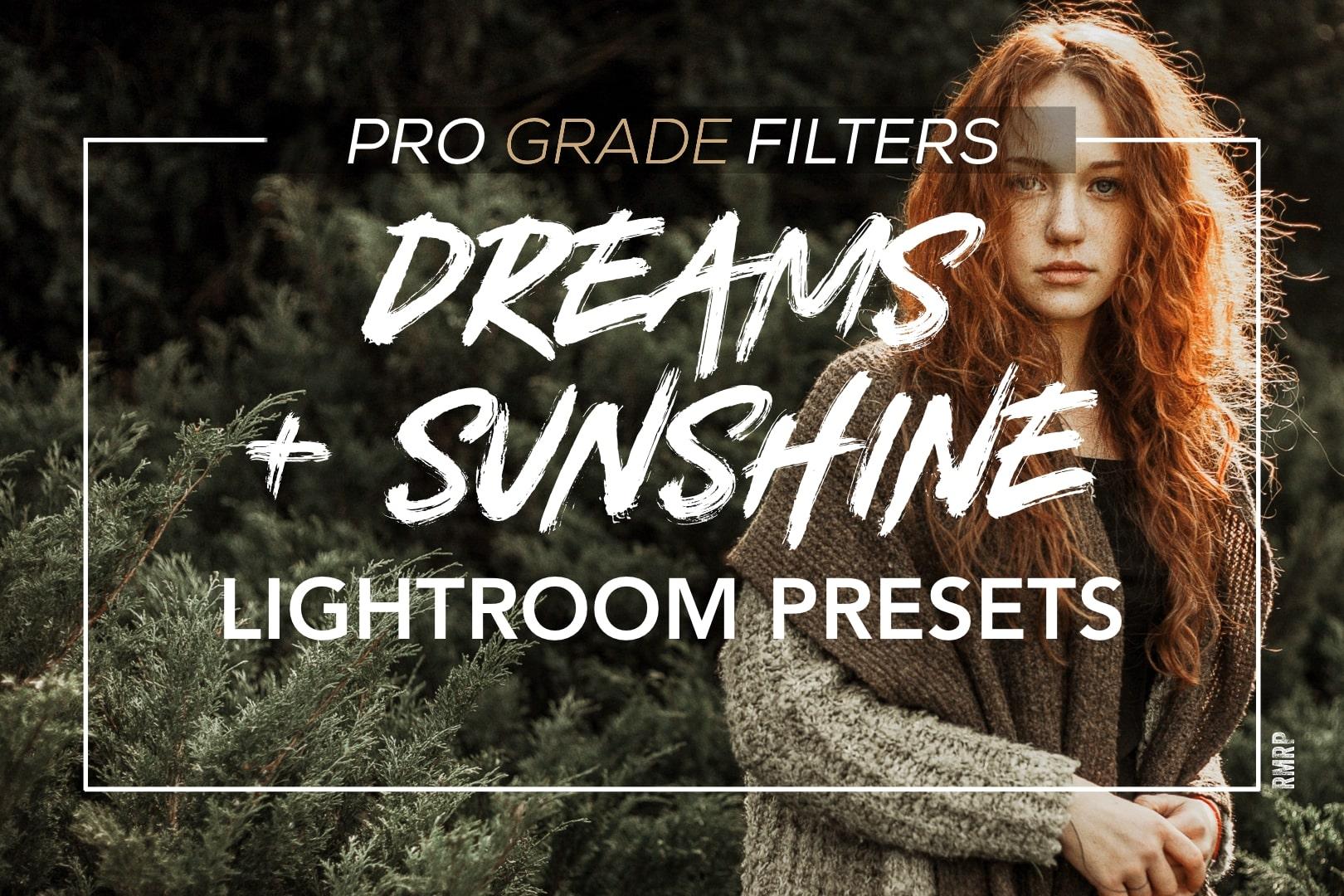 dreams and sunshine mobile lightroom presets