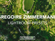 Gregoire Zimmermann Lightroom Presets