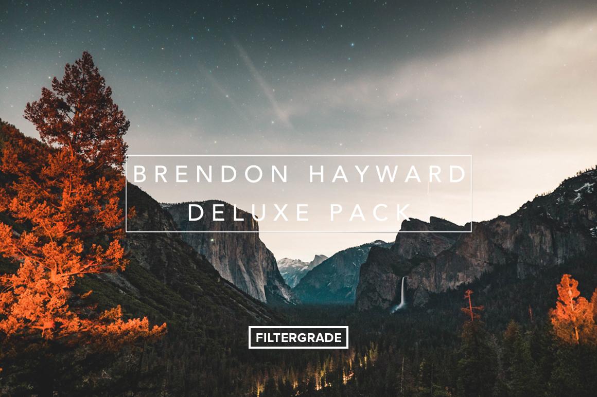 Brendon Hayward Presets & LUTs Bundle