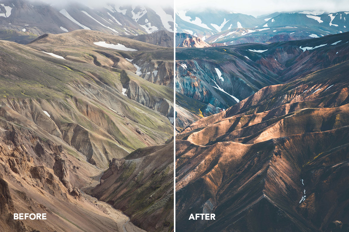 mountainscapes presets