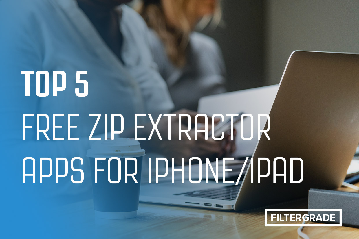 free zip extractor apps iphone/ipad