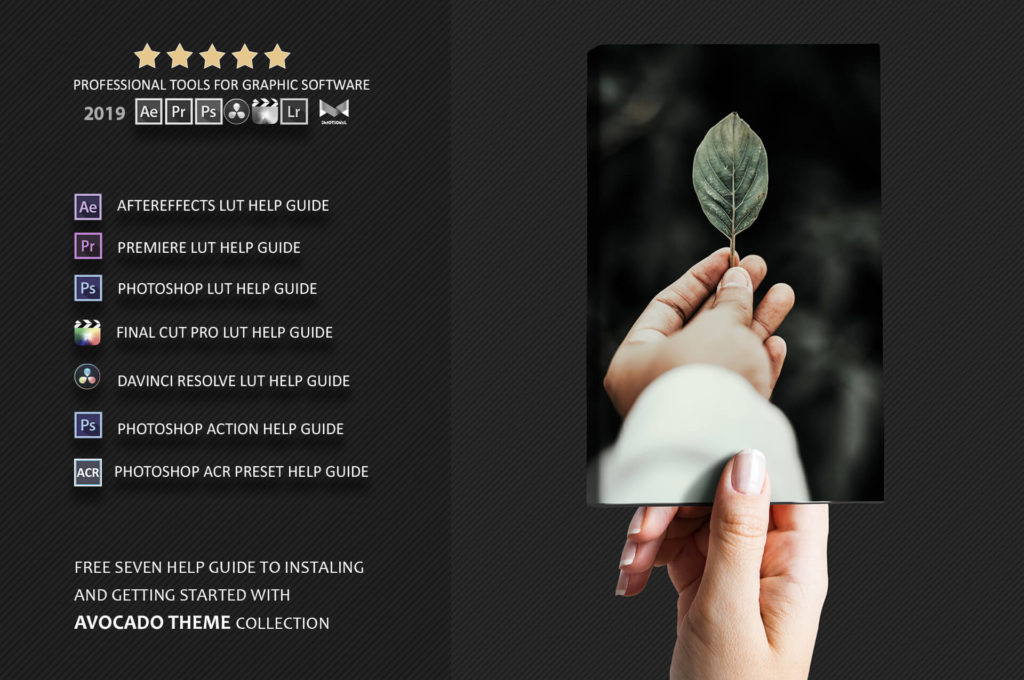 neo avocado collection of ps actions and luts