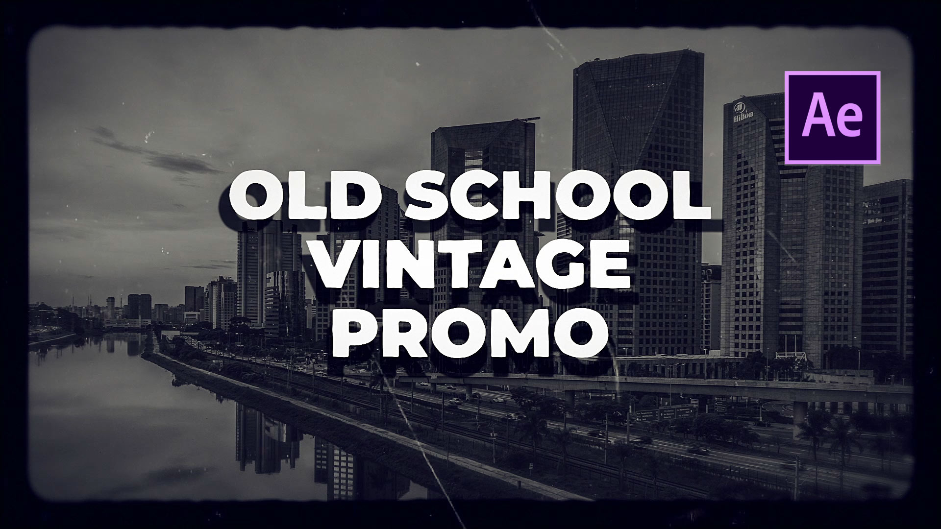 Old School Vintage Film After Effects Template