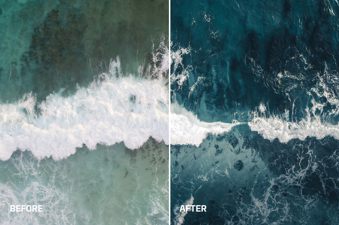 dark ocean photo filter, kevin krautgartner