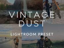 Vintage Dust Lightroom Preset