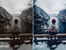 winter preset by daniel weissenhorn