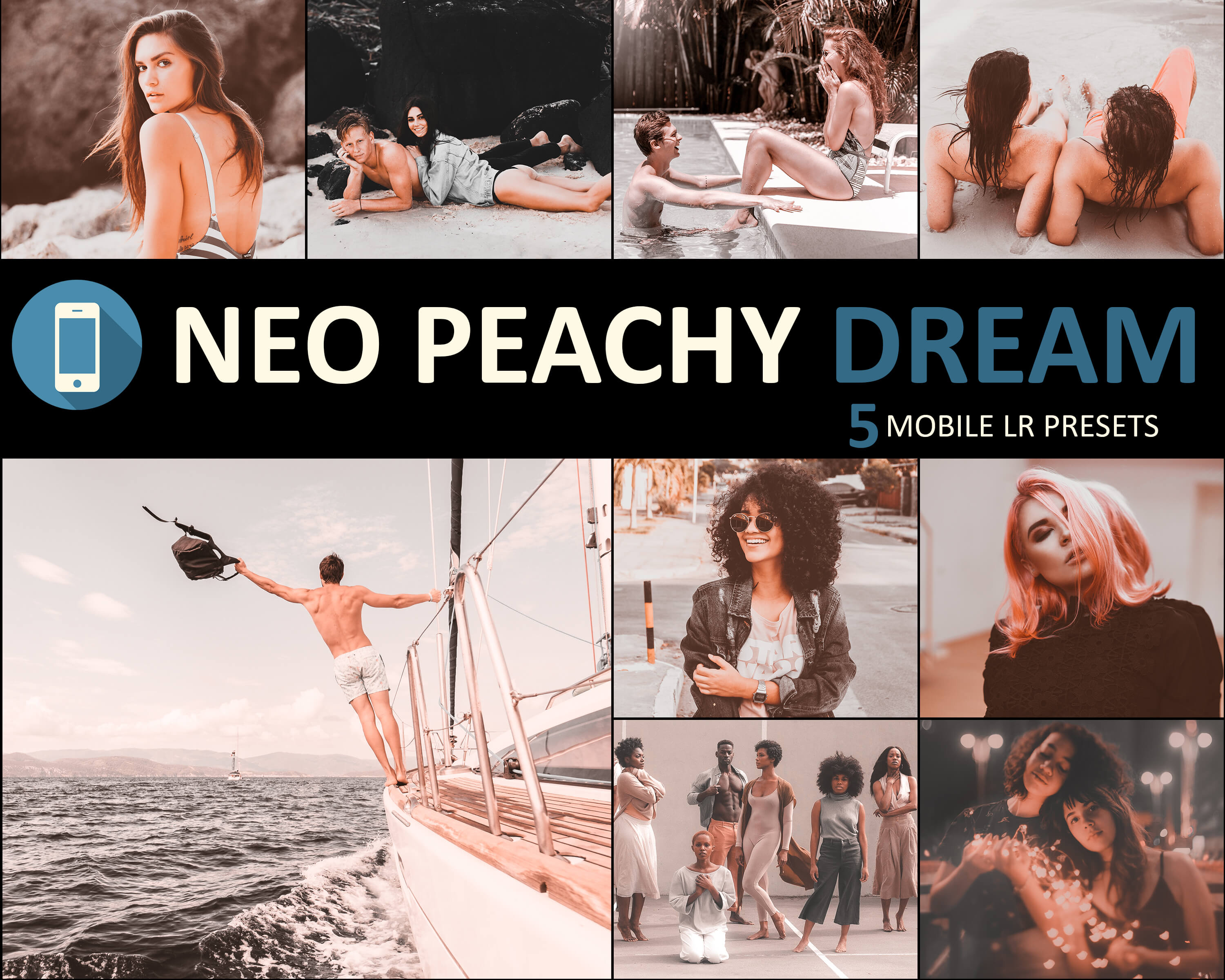 neo peachy dream mobile presets