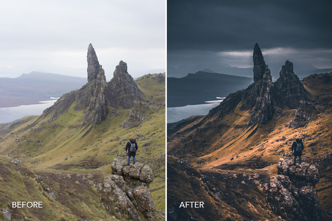 landscape presets and mobile filters