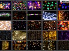100 bokeh bundle overlays on FilterGrade