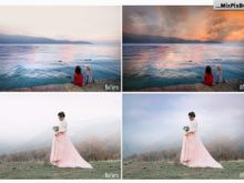 beautiful sky photography overlays