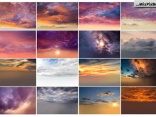 skies backgrounds