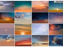 skies background bundle