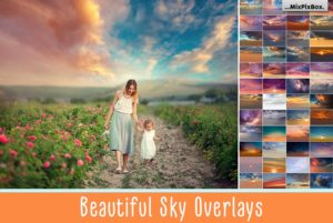 beautiful sky overlays mixpixbox