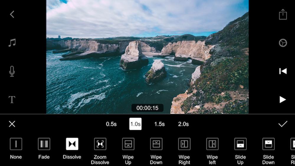 film editing video app iphone