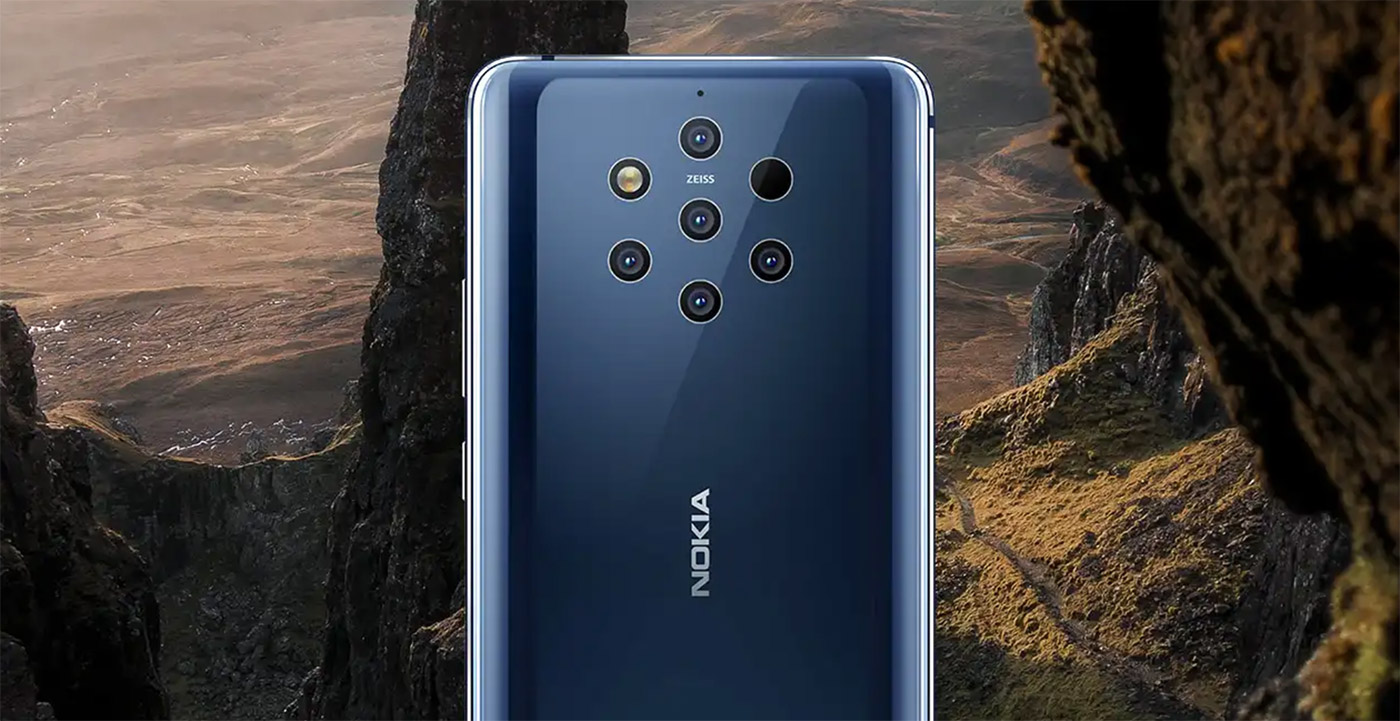 nokia 9 pureview announced with five rear cameras ZEISS optics