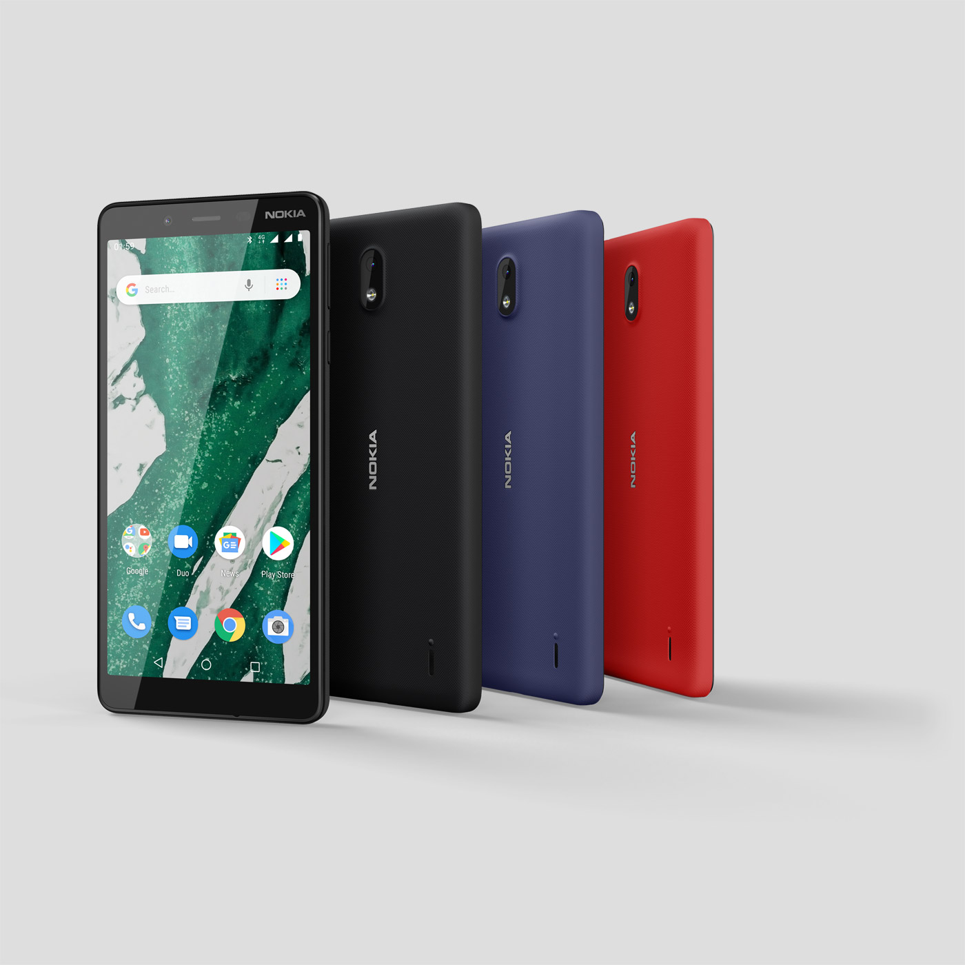 nokia 1 plus color range