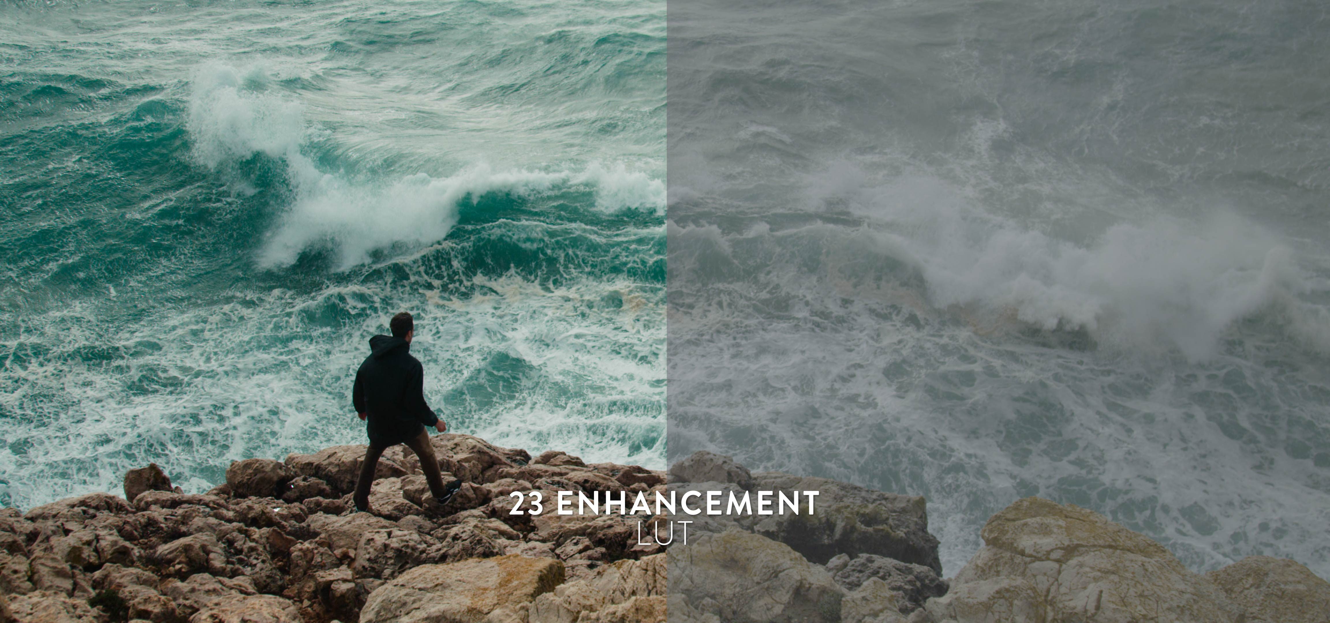 cinematic enhancements for color grading