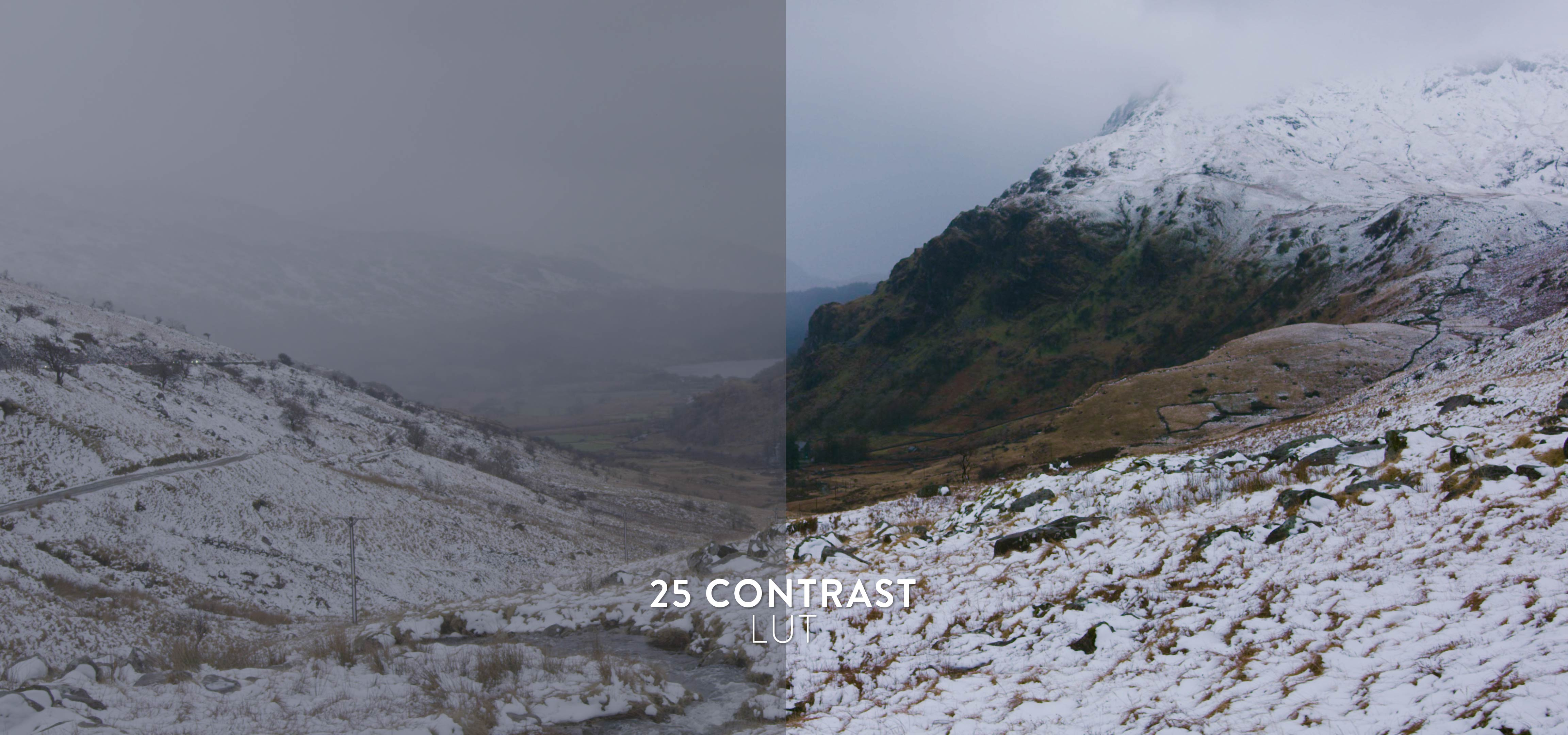 contrast winter luts