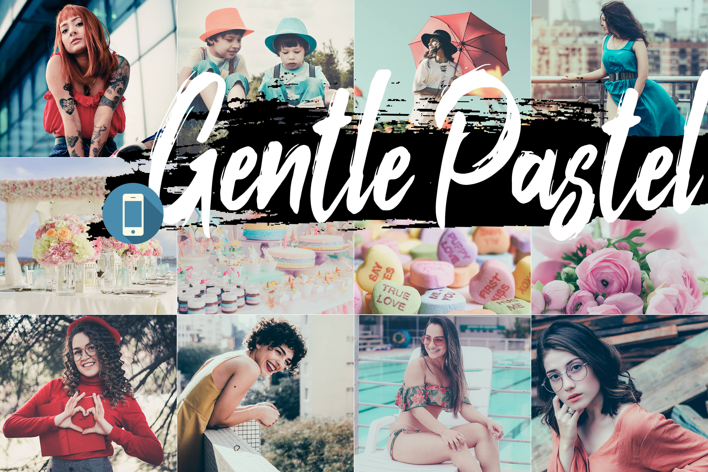 Gentle Pastel Mobile LR Presets by 3Motional