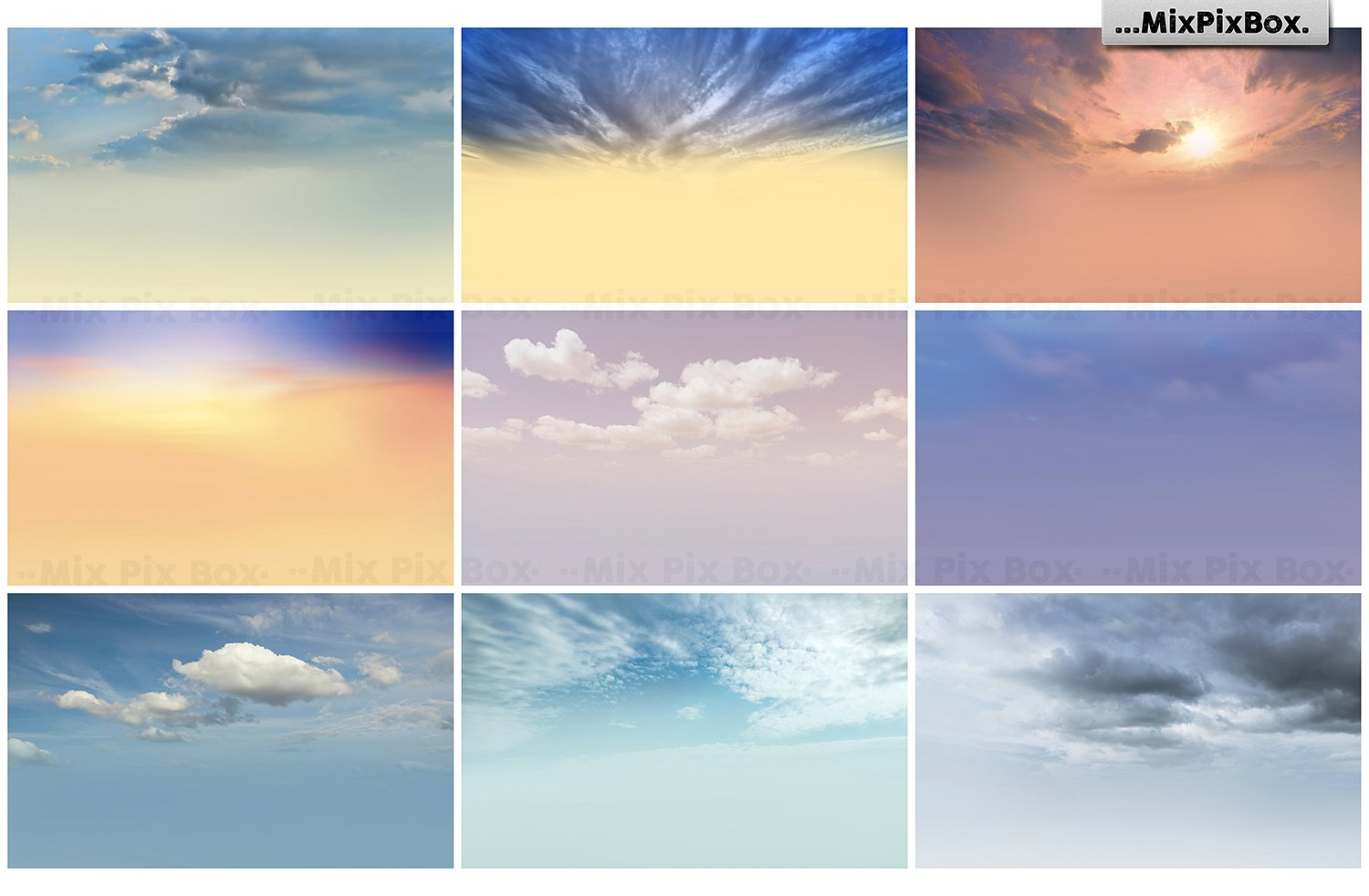 sky replacements photography overlays