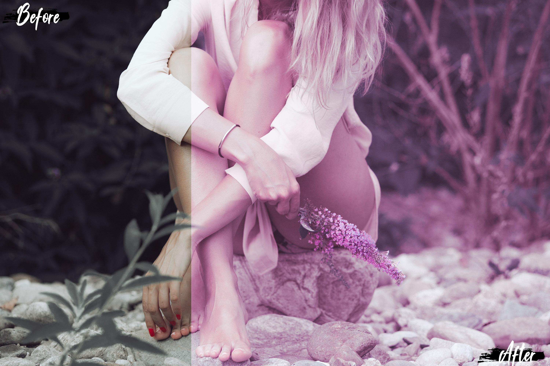pink scent romantic presets