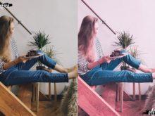 pink pastel presets
