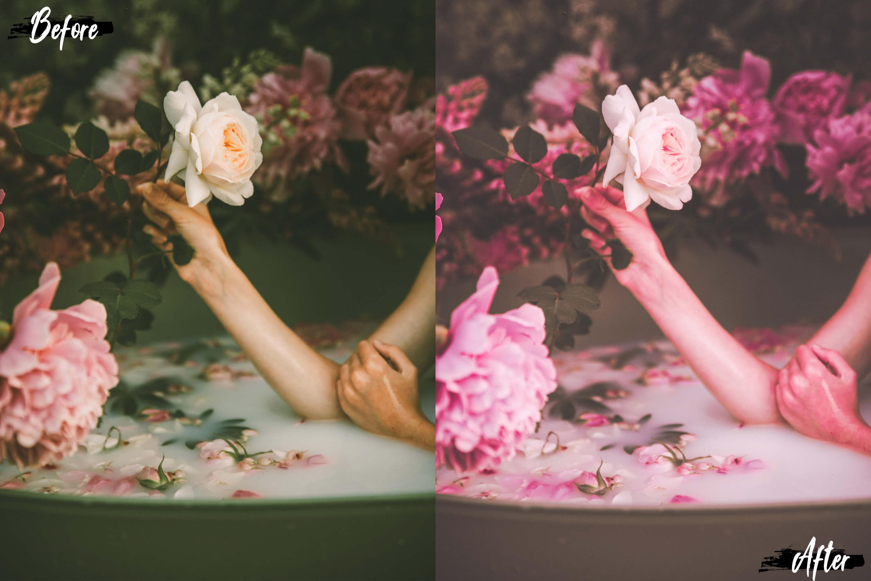 wedding presets pink