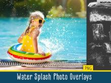 Water Splash Photo Overlays by MixPixBox