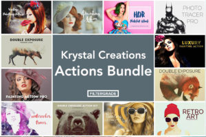 Krystal Creations Photoshop Actions Bundle